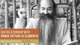 Our relationship with Panch-Tattvas (5 Elements)